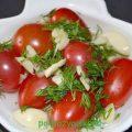 Малосольные помидоры черри: великолепная закуска