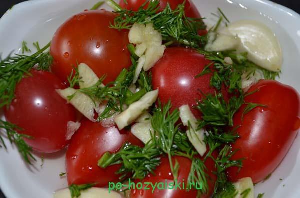 малосольные помидоры черри рецепт