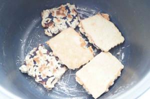 тертое печенье в мультиварке