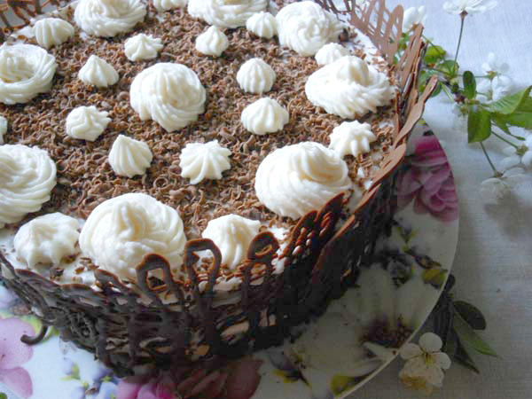 торт зимняя вишня рецепт