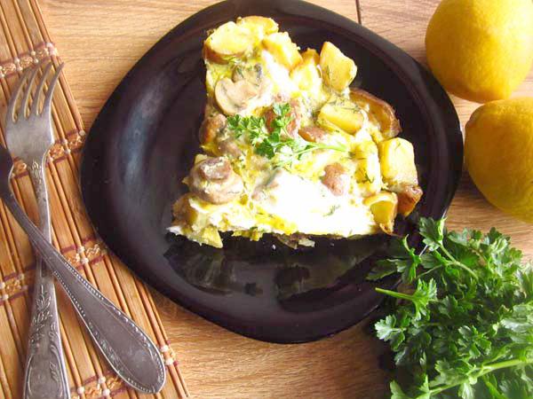 испанский омлет тортилья