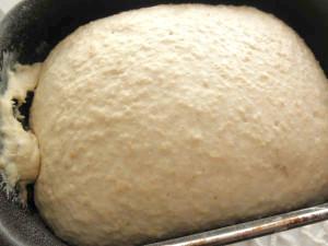 увеличенное тесто