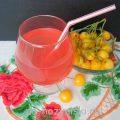 Ароматный напиток из базилика
