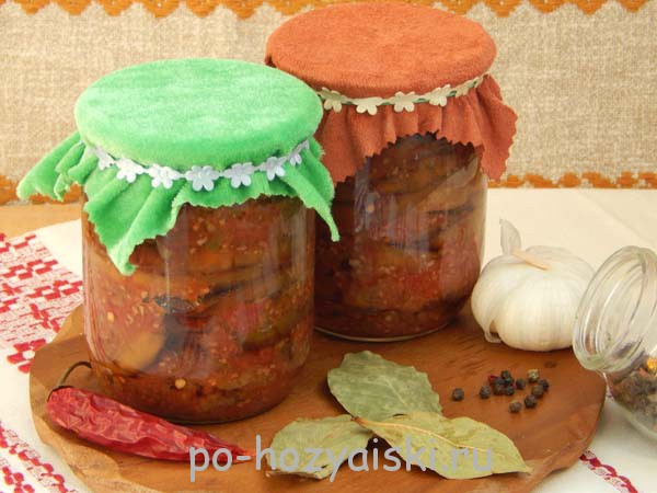 тещин язык из баклажанов рецепт с фото