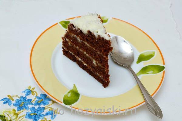 торт в микроволновке рецепт с фото