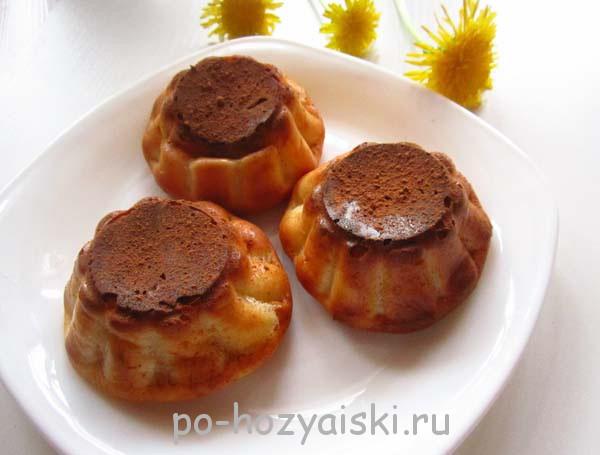 творожные кексы в силиконовых формочках рецепт с фото