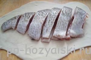 рыба на тесте