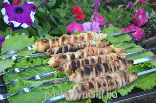 шашлык хачапури
