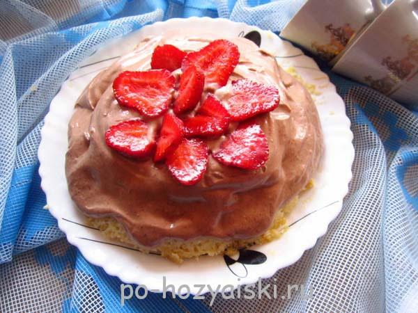 торт в микроволновке за 5 минут рецепт