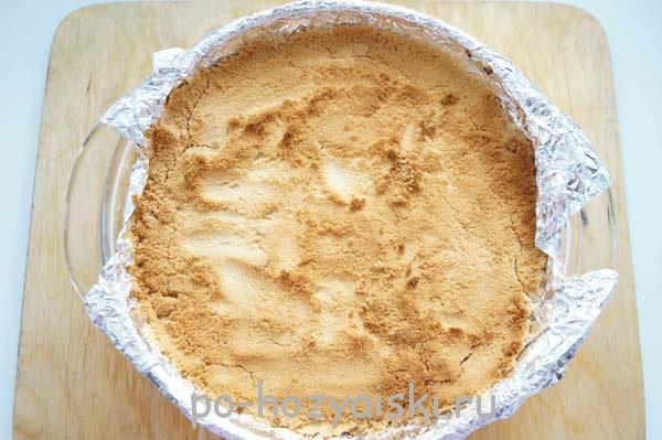 творожная запеканка с печеньем рецепт
