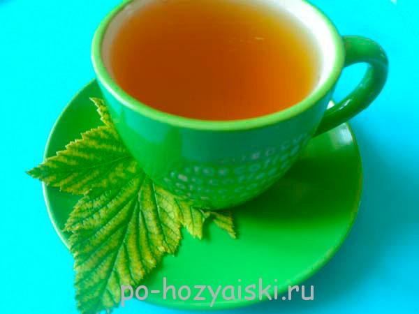 чай из листьев смородины рецепт