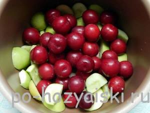 фрукты в мультиварке