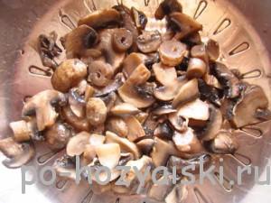 жаренные грибы