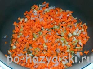 морковь с перцем