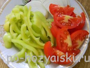 перец с помидорами