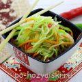 Салат из кабачков по-корейски, будет готов через 60 минут
