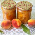 Как приготовить варенье из персиков дольками