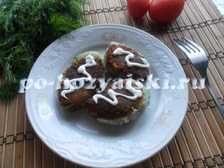 рецепт котлет из картофеля
