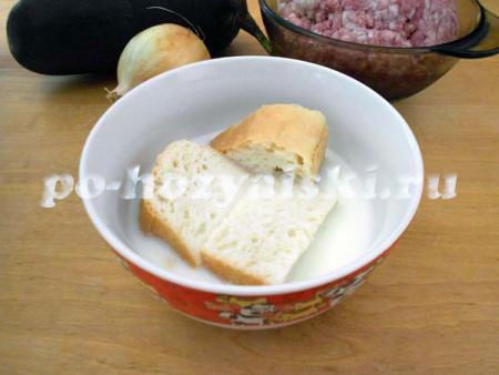 хлеб в молоке