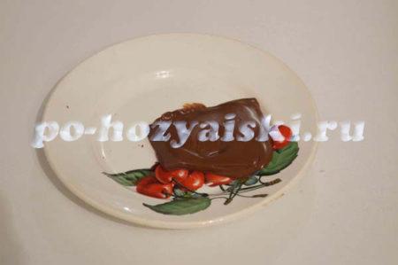 расплавить шоколад
