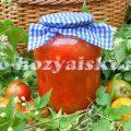 Как заготовить помидоры в собственном соку без стерилизации