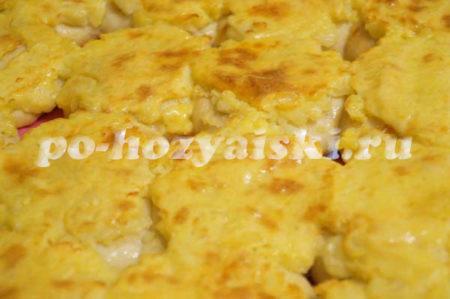 готовые шаньги с картофелем