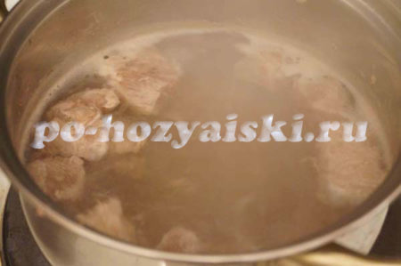 мясной бульон