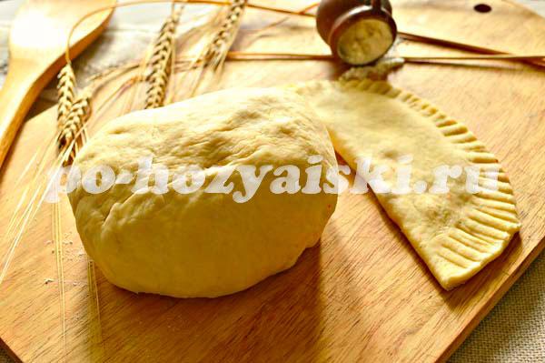 Тесто на чебуреки с маргарином