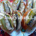 Бутерброды со шпротами и соленым огурцом, простая и аппетитная закуска