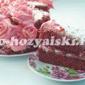 Торт Красный бархат, оригинальный рецепт с фото