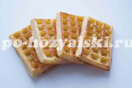 Венские вафли в духовке рецепт с фото пошагово