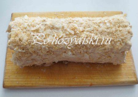 торт из печенья, рецепт приготовления