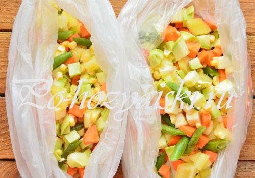 Замороженные овощные смеси на зиму своими руками 38
