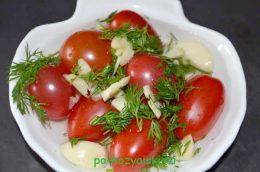 малосольные помидоры черри
