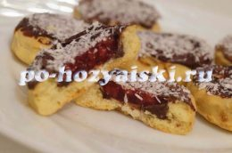печенье с желе рецепт