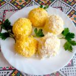 шарики из плавленного сыра