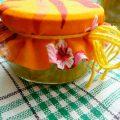 Рецепт варенья из ревеня с апельсином