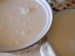 сливки и молоко