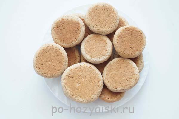 рецепт овсяного печенья по госту