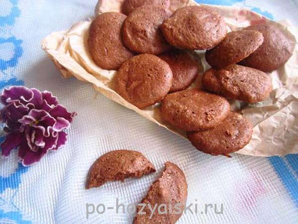 воздушное печенье из белков
