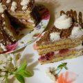 Праздничный торт «Зимняя Вишня»