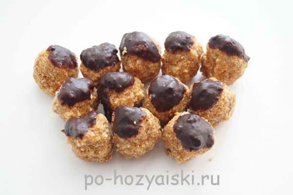 пирожное муравейник из печенья