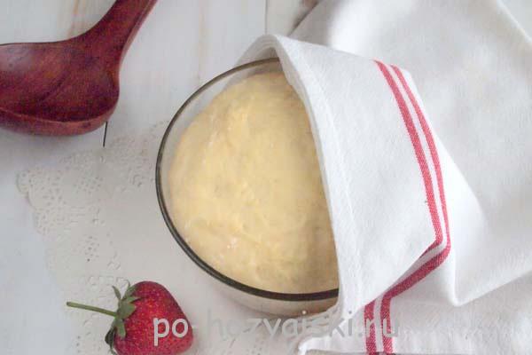 дрожжевое тесто на йогурте