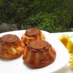творожные кексы в силиконовых формочках