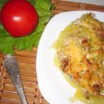 картофельная запеканка с кабачками