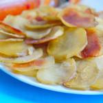 картофельные чипсы в духовке