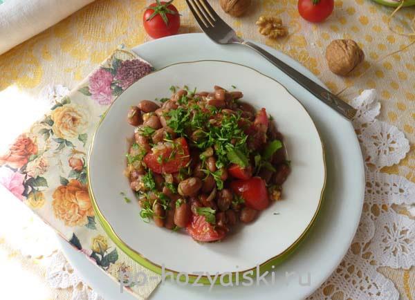 салат с красной фасолью рецепт