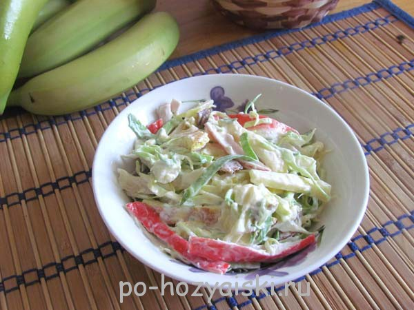салат с сулугуни рецепт