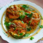 кабачки с чесноком в духовке
