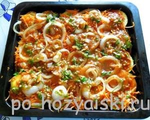 кабачки в соусе